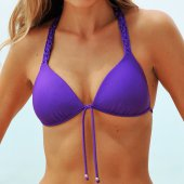 Seafolly Shimmer Macrame Fixed Moulded Tri (����) - ������ � ��������-�������� ������ � ������� ������ Leto-solnce.ru